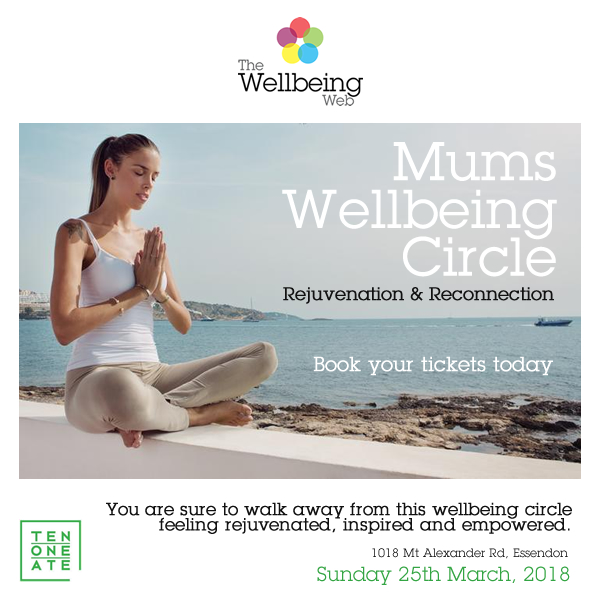 Mums Wellbeing Circle - Rejuvenation & Reconnection
