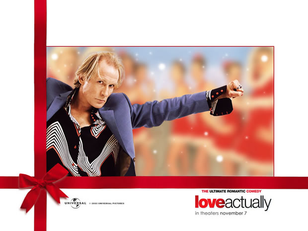 Bill Nighy from Love Actually